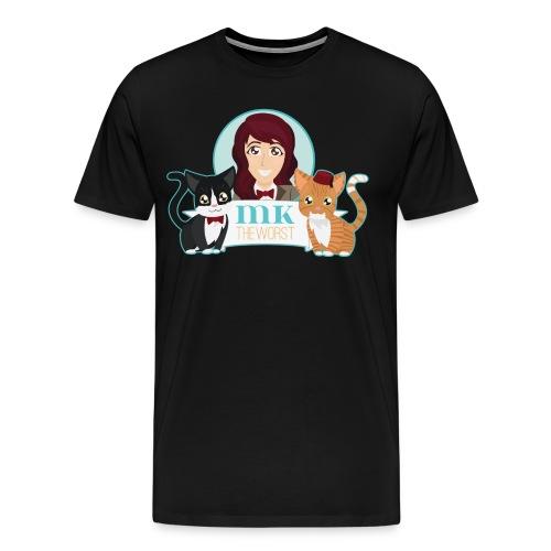 MKtheCatLady (Men's) - Men's Premium T-Shirt