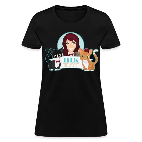 MKtheCatLady (Women's) - Women's T-Shirt