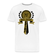 T-Shirts ~ Men's Premium T-Shirt ~ PIF Award [metallic gold]