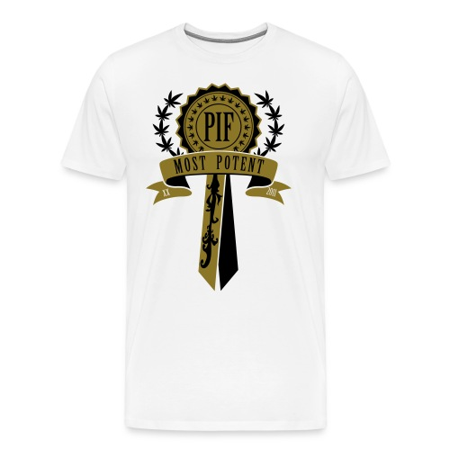 PIF Award [metallic gold] - Men's Premium T-Shirt
