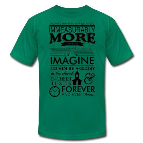 Ephesians 3:20 - Men's  Jersey T-Shirt