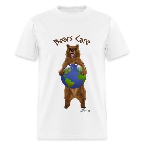 bears care for earth - Men's T-Shirt