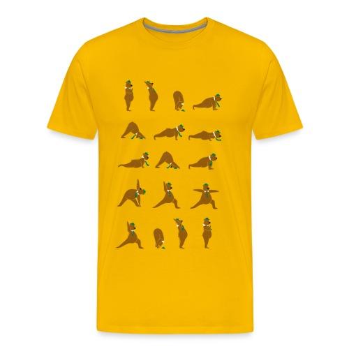 Yoga Bear - Men's Premium T-Shirt