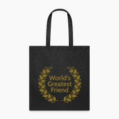 worlds greatest friend Bags & backpacks
