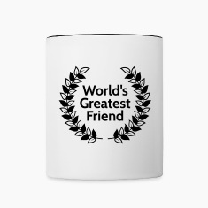 worlds greatest friend Bottles & Mugs