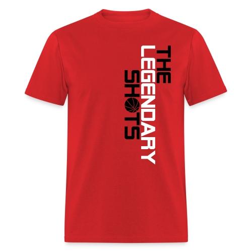TLS Vertical (Black & White) - Men's T-Shirt