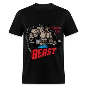 Unleash The Beast - Men's T-Shirt