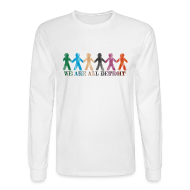 Long Sleeve Shirts ~ Men's Long Sleeve T-Shirt ~ We Are All Detroit