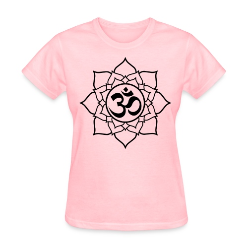 OM and Lotus (W) - Women's T-Shirt