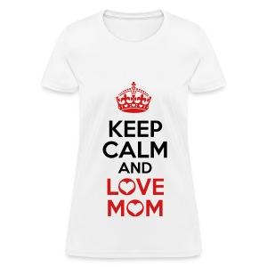 Love Mom tee - Women's T-Shirt