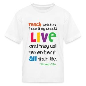 Teach tee - Kids' T-Shirt