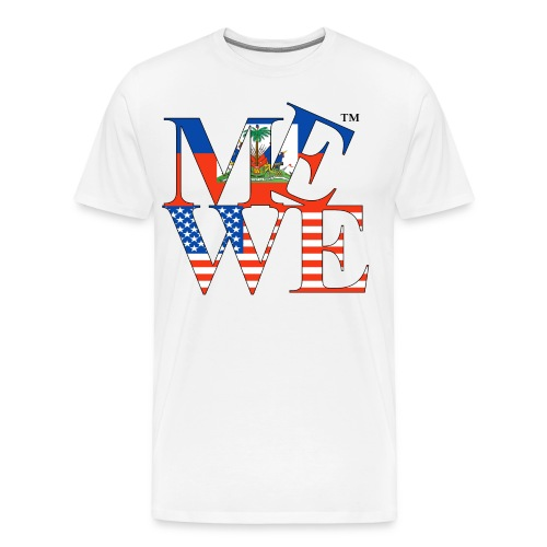 Me We Haitian Tee - Men's Premium T-Shirt