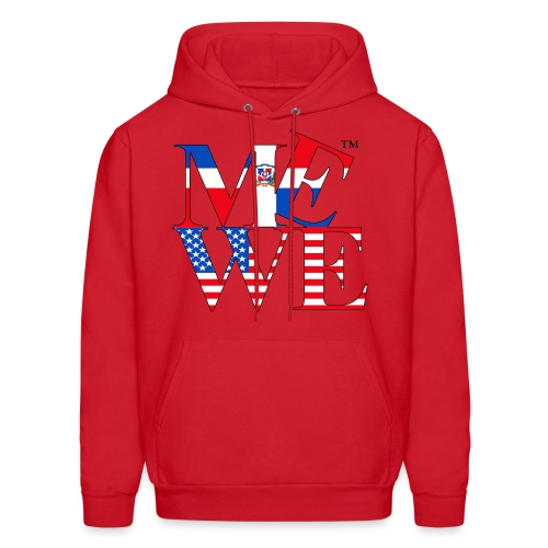 Me We Dominican Hoody - Men's Hoodie