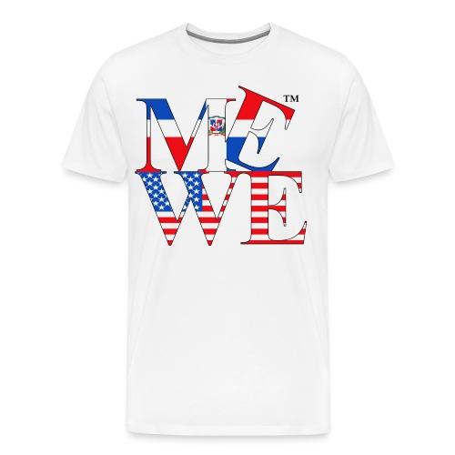 Me We Dominican Tee  - Men's Premium T-Shirt