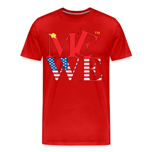 Me We Chinese Tee  - Men's Premium T-Shirt