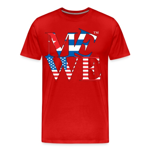 Me We Cuban Tee - Men's Premium T-Shirt