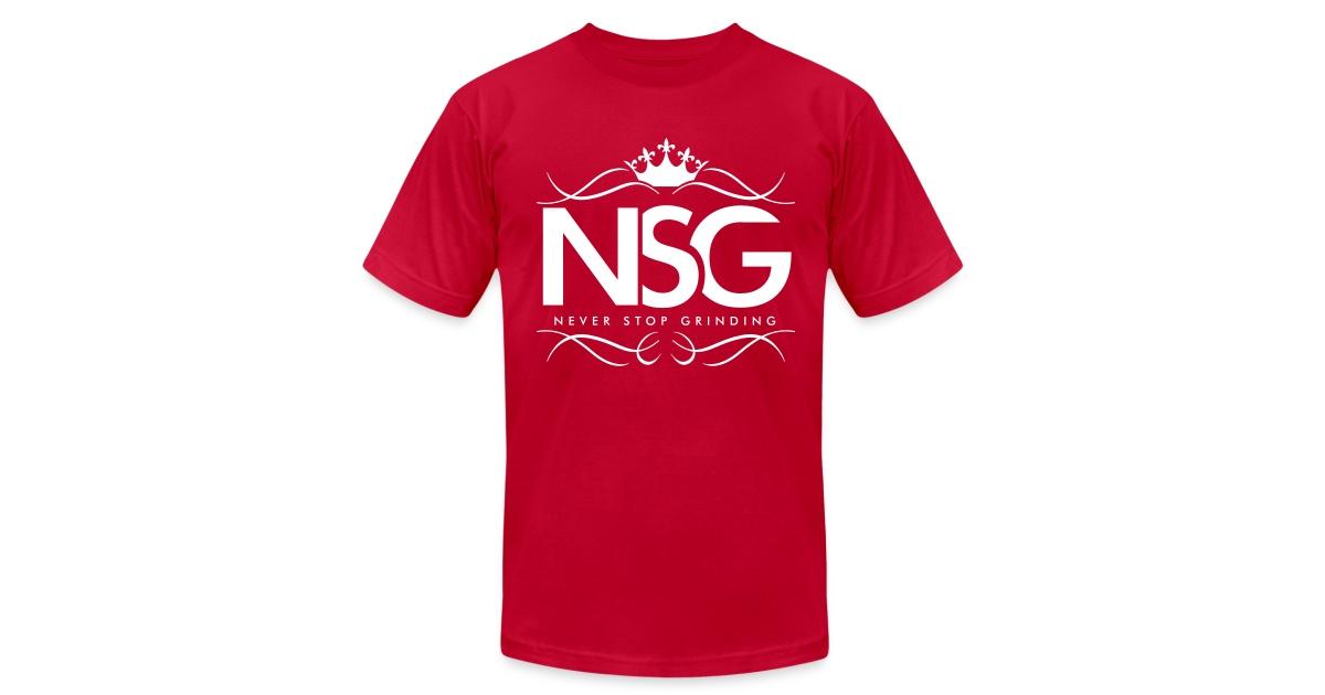 5ecf1d654 NSG Signature T-Shirt (White Print)