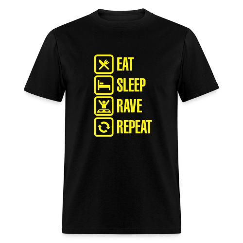 Fitmisc rave crew - Men's T-Shirt