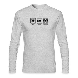 Eat Sleep Urbanism (BK) - Men's Long Sleeve T-Shirt by Next Level