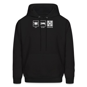 Eat Sleep Urbanism (WHT) - Men's Hoodie