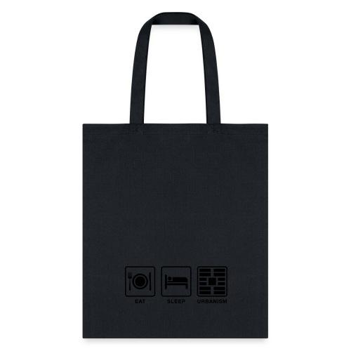 Eat Sleep Urbanism (BK) - Tote Bag