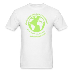 We Have One Planet - Men's T-Shirt