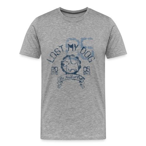 Men's Premium T - Varsity Print - Men's Premium T-Shirt