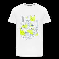 T-Shirts ~ Men's Premium T-Shirt ~ Men's Premium T - Abstract Print