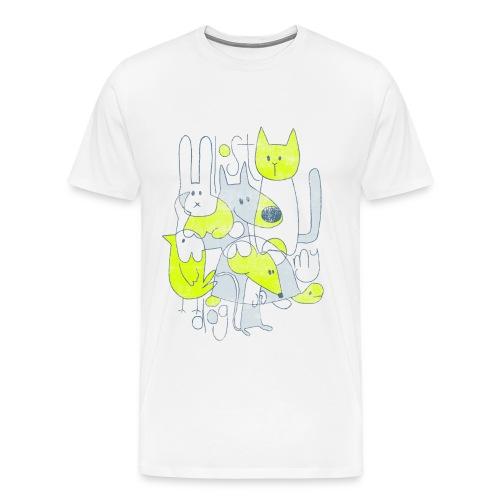 Men's Premium T - Abstract Print - Men's Premium T-Shirt