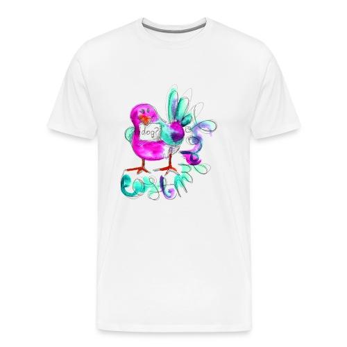 Men's Premium T - Rave Bird - Men's Premium T-Shirt