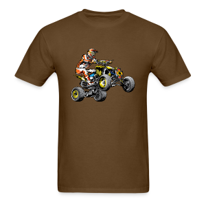 ATV Racing T-Shirt - Men's T-Shirt