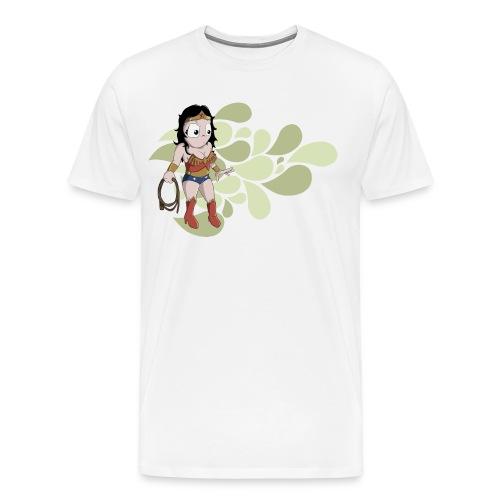 Wonder Woman Homme - Men's Premium T-Shirt