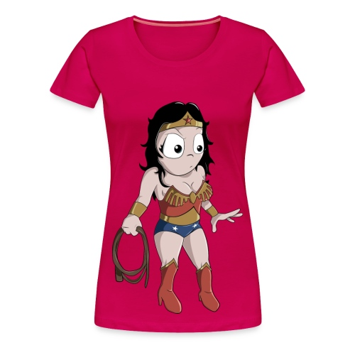 Wonder Woman Full Femme - T-shirt premium pour femmes