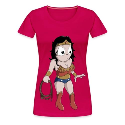 Wonder Woman Full Femme - Women's Premium T-Shirt