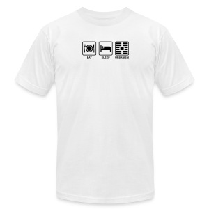 Eat Sleep Urbanism (BK) - Men's T-Shirt by American Apparel