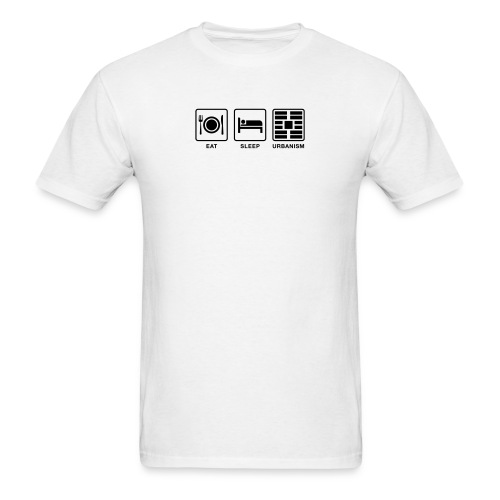 Eat Sleep Urbanism (BK) - Men's T-Shirt