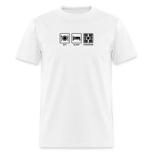 Eat Sleep Urbanism (BK) - Men's T-Shirt