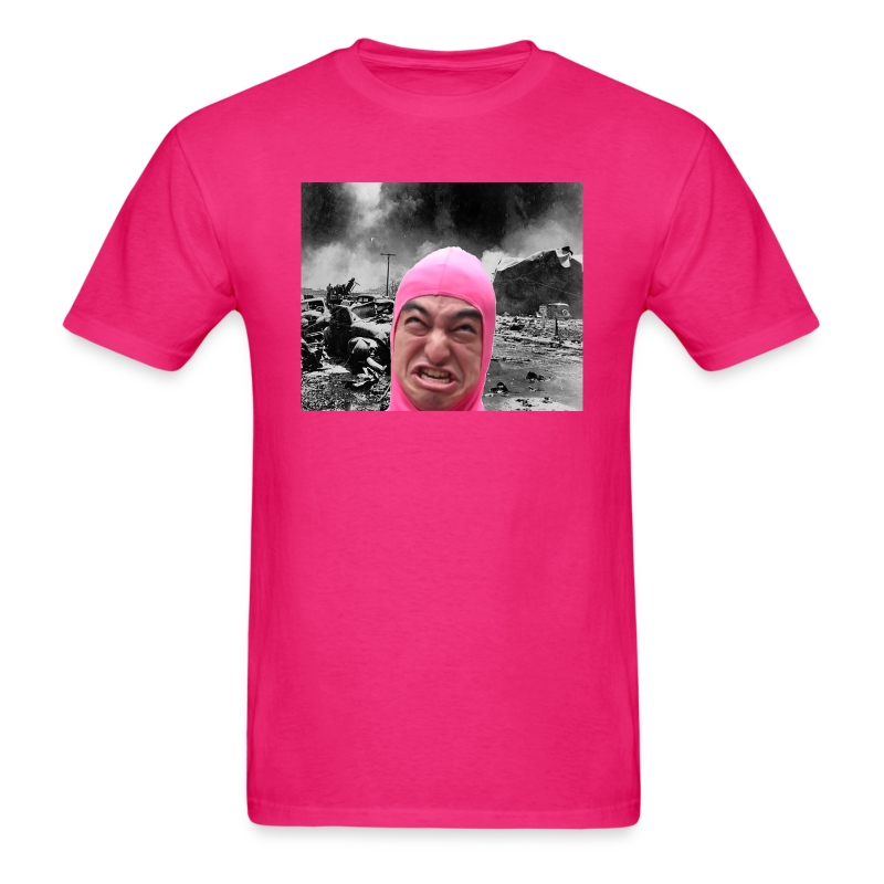 Pink Guy Destroys All T-Shirt | Filthy Frank Apparel
