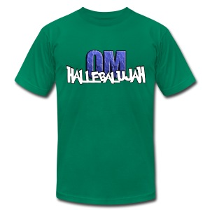 Hallebalujah - Premium Quality Men's T-Shirt (American Apparel) - Men's Fine Jersey T-Shirt