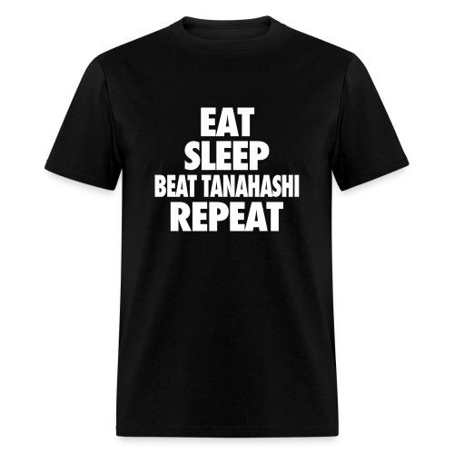 Eat Sleep Beat Tanashi Repeat - Men's T-Shirt