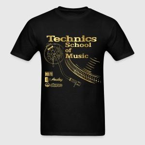 music gold T-Shirts - Men's T-Shirt