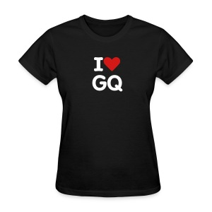 I Heart Gabe Quinn (black) - Women's T-Shirt