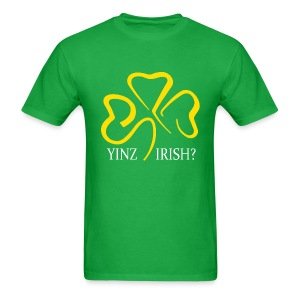 Yinz Irish - Men's T-Shirt