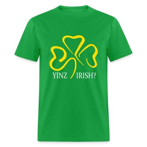 Yinz Irish - Men's T-Shirt