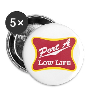 5 Pack of Buttons with PALL Logo - Large Buttons