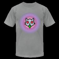 T-Shirts ~ Men's T-Shirt by American Apparel ~ Sick cat sick!