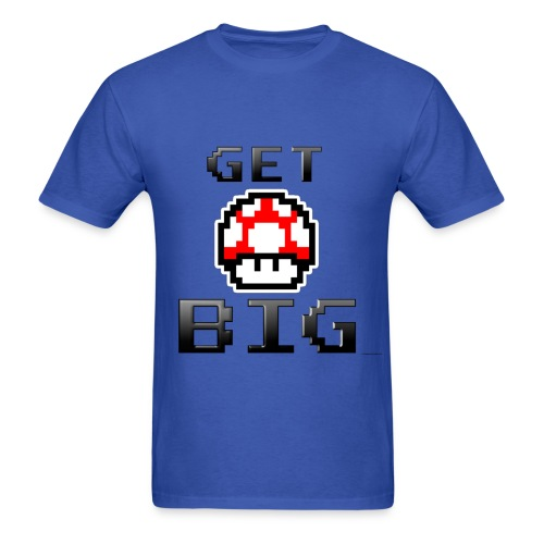 Get Big Mario Mushroom Gym T - Men's T-Shirt