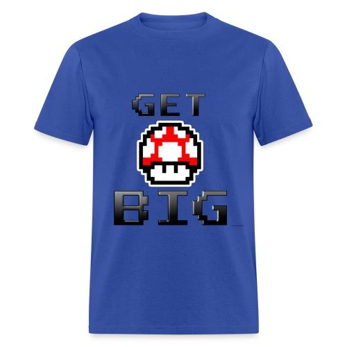 Get Big Mario Mushroom Gym T - Men's T-Shirt