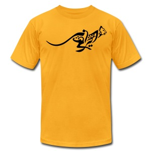 Blazing Cheetah Men's Tee - Men's T-Shirt by American Apparel