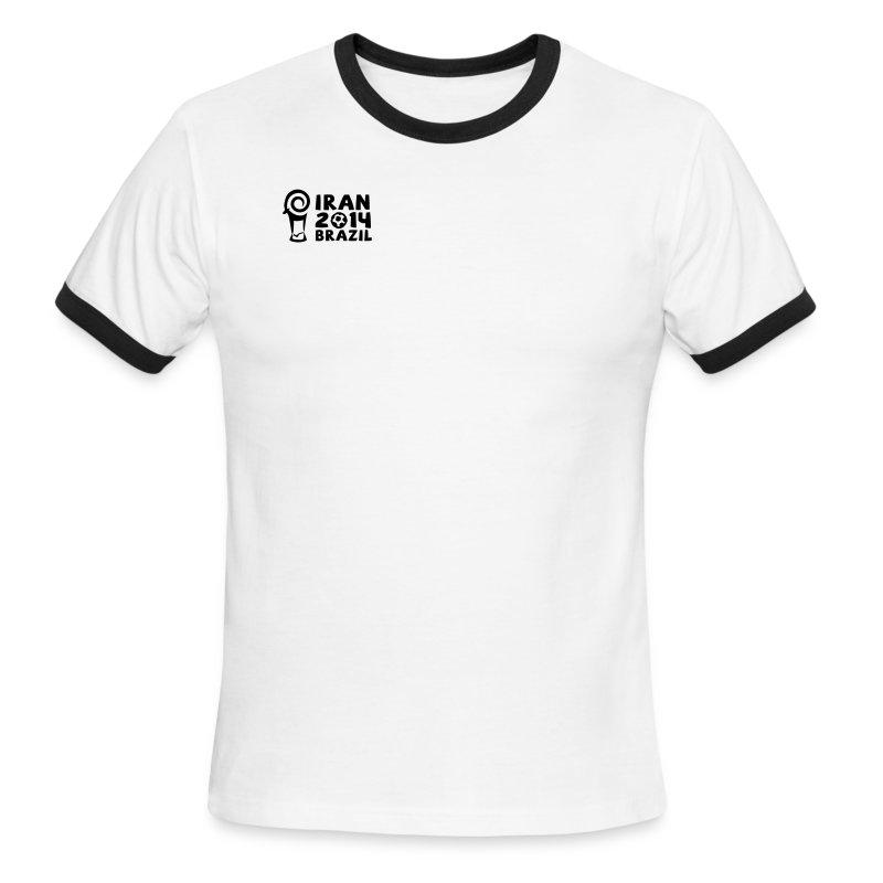 Blazing Cheetah Mens Ringer Tee - Men's Ringer T-Shirt